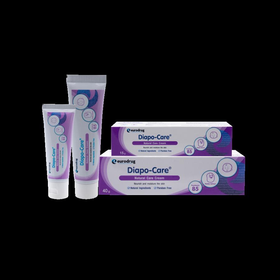 Diapo-Care ไดโป-แคร์ เนเชอรัล แคร์ ครีม  15 กรัม - ครีมบำรุงและปกป้องผิว