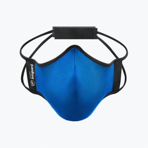 หน้ากากผ้าใช้สำหรับออกกำลังกายและทำกิจกรรมทั่วไป Livinguard Fitness Mask (Swiss Technology)-ฟ้า Electric