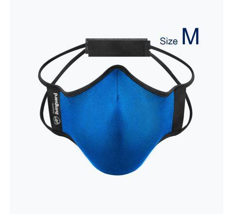หน้ากากผ้าใช้สำหรับออกกำลังกายและทำกิจกรรมทั่วไป Livinguard Fitness Mask (Swiss Technology) สีฟ้า Electric Blue - ไซส์ M