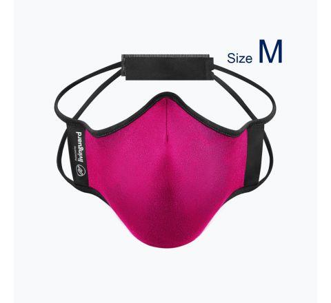 หน้ากากผ้าใช้สำหรับออกกำลังกายและทำกิจกรรมทั่วไป Livinguard Fitness Mask (Swiss Technology) สี ชมพู Fuchsia - ไซส์ M