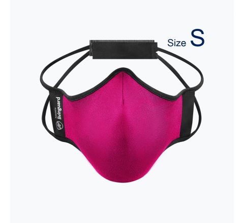หน้ากากผ้าใช้สำหรับออกกำลังกายและทำกิจกรรมทั่วไป Livinguard Fitness Mask (Swiss Technology) สี ชมพู Fuchsia - ไซส์ S